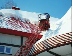 Site Safety: Preventing Falls When Removing Snow