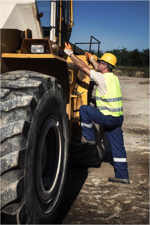 Site Safety – Mounting & Dismounting Equipment