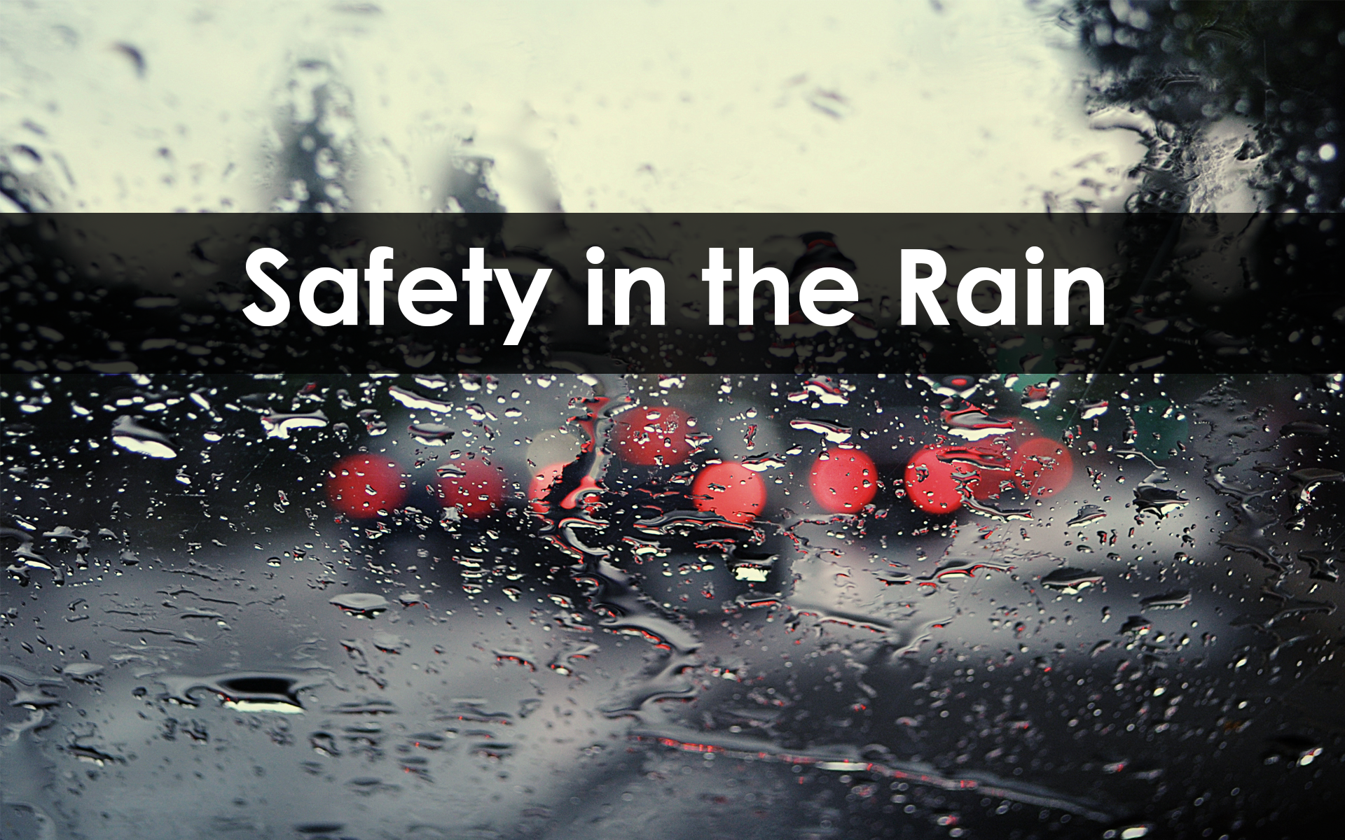 Site Safety: Wet Weather Safety at Work